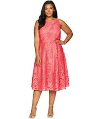 Tahari by ASL Plus Size Sleeveless Chemical Lace F