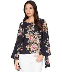 Vince Camuto Tie Cuff Bubble Sleeve Blouse