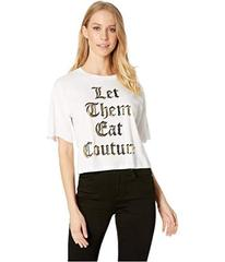 Juicy Couture Knit Let Them Eat Couture Graphic Te