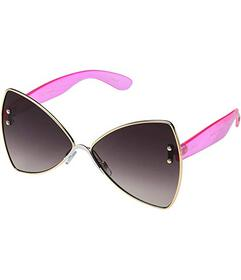 Betsey Johnson Butterfly with Crystal Temples