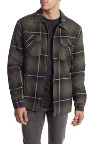 Quiksilver Cypress Road Plaid Shirt Jacket