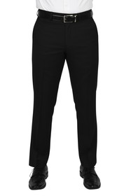 Dockers Solid Flat Front Pants - 30-32\