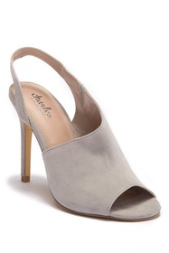 Charles By Charles David Riot Slingback Suede Sand