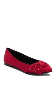 BCBGeneration Mary Pointed Toe Bow Flat