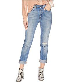 Juicy Couture Denim Rip and Repair Girlfriend Jean
