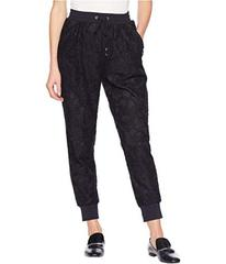 Juicy Couture Soft Woven Hibiscus Lace Pants