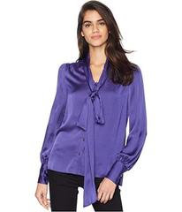 Juicy Couture Soft Woven Satin Blouse