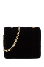 French Connection Laine Velvet Crossbody