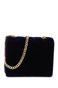 French Connection Laine Mini Velvet Crossbody