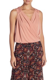 BCBG Surplice Top