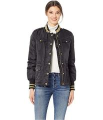 Juicy Couture Hard Woven Nylon Sateen Parka