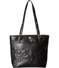 Anne Klein Quilted Stud North/South Tote