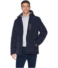 Nautica Quilted Hooded Parka