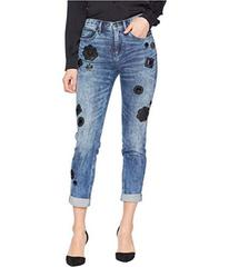 Juicy Couture Denim Water Wash Girlfriend Jeans wi