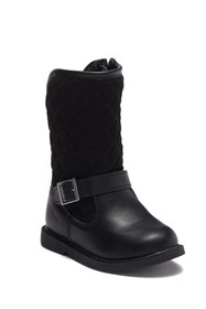 Carter's Claress Quilted Boot (Toddler & Little Ki