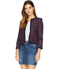 Juicy Couture Hard Woven Elodie Tweed Jacket