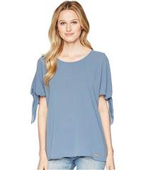 MICHAEL Michael Kors Cold Shoulder Bow Top