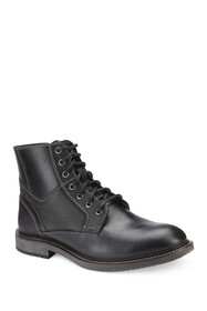Reserved Footwear Textured Mid Boot