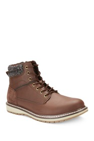 Reserved Footwear Lace-Up Mid Boot