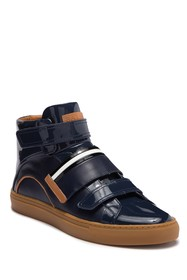 BALLY Herick High Top Leather Sneaker