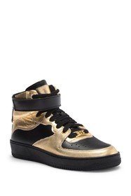RED Valentino High Top Metallic Sneaker