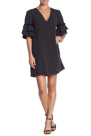 BCBGeneration Tassle Shift Dress