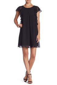 BCBGeneration Cascade Sleeve Tent Dress