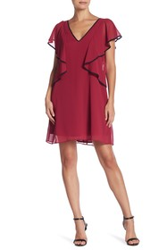 BCBGeneration Ruffle Sleeve Dress