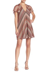 BCBGeneration Chevron Knit Dress