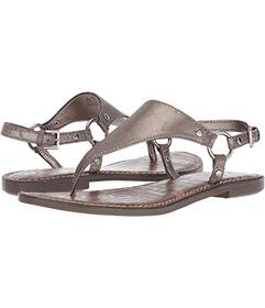 Sam Edelman Pewter Dreamy Metallic Leather
