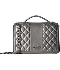 LOVE Moschino Quilted Metallic Shoulder Bag Chain