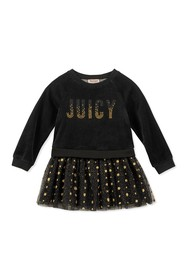 Juicy Couture Velour Top & Layered Tulle Bottom Dr