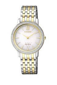 Citizen Women's Silhouette Crystal Mother of Pearl