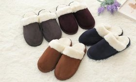 Winter Slippers Soft Home Bedroom Plush Warm Indoo