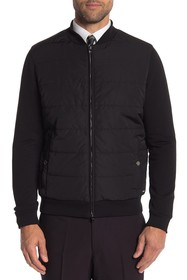 BOSS Skiles Hooded Quilted Jacket