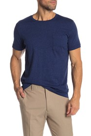 Brooks Brothers Short Sleeve Solid Pocket Tee