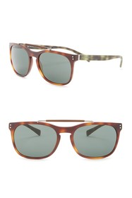Burberry Tailoring the Mr. Square 56mm Sunglasses