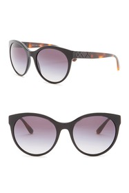 Burberry 56mm Retro Sunglasses