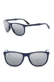 Ray-Ban 58mm Square Sunglasses