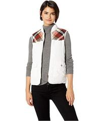 UNIONBAY Shanna Vest with Plaid Trim