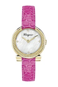 Salvatore Ferragamo Women's Gancino Diamond Quartz