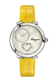 Salvatore Ferragamo Women's Beating Heart Swiss Qu