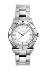 Salvatore Ferragamo Men's 1898 Swiss Quartz Bracel