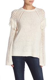 BCBGeneration Fringe Pullover Sweater