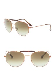 Ray-Ban 56mm Aviator Sunglasses