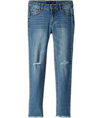 Tommy Hilfiger Embroidered Skinny Jeans w/ Rip & R