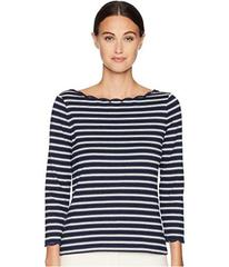 Kate Spade New York Broome Street Stripe Scallop K
