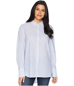 Kenneth Cole New York Shirting Stripe Button Front