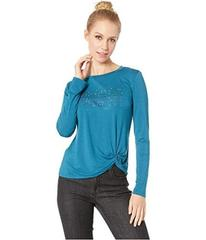 Bebe French Knot Long Sleeve