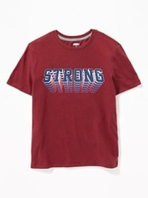 Graphic Soft-Washed Tee for Boys